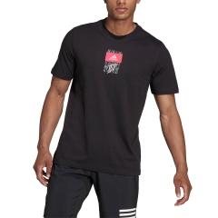 adidas Dominic Thiem Logo T-Shirt - Black