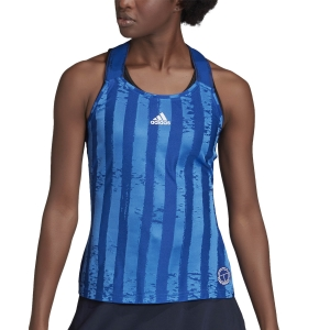 Canotte Tennis Donna adidas Enginereed Canotta  Team Royal Blue/White FT6403