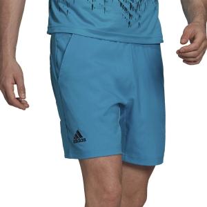 Pantalones Cortos Tenis Hombre adidas Ergo Primeblue 7in Shorts  Sonic Aqua H31379