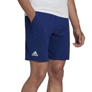 Pantalones Cortos Tenis Hombre adidas Ergo 7in Shorts  Victory Blue/White H50275
