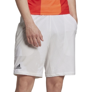 Men's Tennis Shorts adidas Ergo 7in Shorts  White/Black H06793