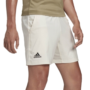 Men's Tennis Shorts adidas Ergo 7in Shorts  Wonder White H31378