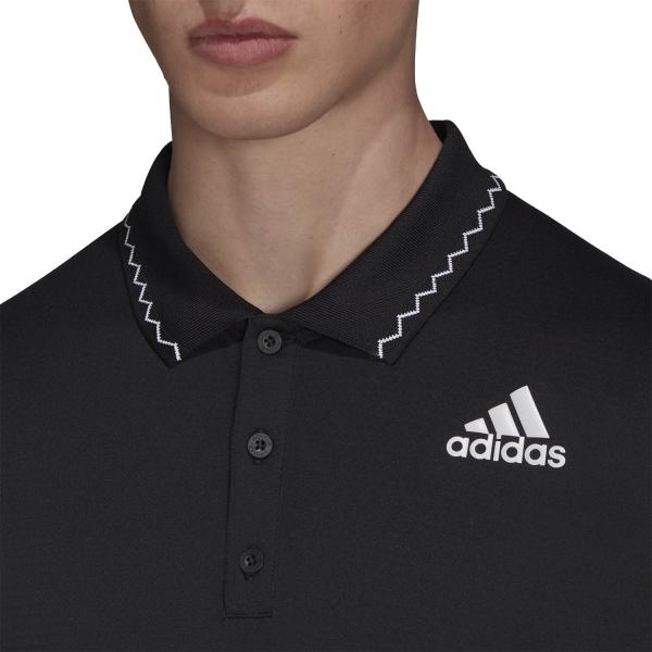 adidas Freelift Logo Polo - Black