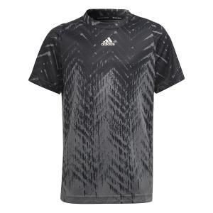 Tennis Polo and Shirts adidas Freelift TShirt Boy  Black H38987