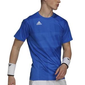 Men's Tennis Shirts adidas Freelift Tokyo TShirt  Glory Blue/White H18185