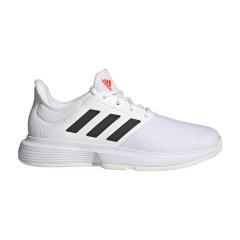 adidas GameCourt - Ftwr White/Core Black/Solar Red