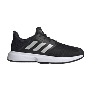 Scarpe Tennis Uomo Adidas GameCourt  Core Black/Matte Silver/Ftwr White GZ8515