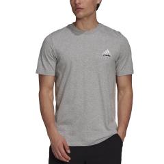adidas London Graphic T-Shirt - Medium Grey Heather