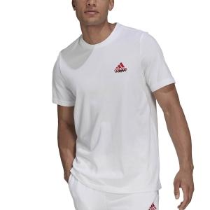 Men's Tennis Shirts adidas London Graphic TShirt  White GU8856