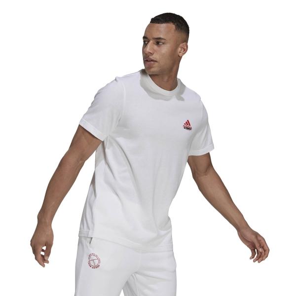 adidas London Graphic T-Shirt - White