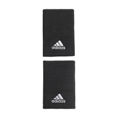 adidas Pro Big Wristbands - Black/White