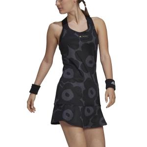 Vestido de Tenis adidas Marimekko Vestido  Carbon/Black/Gold Met GT6003