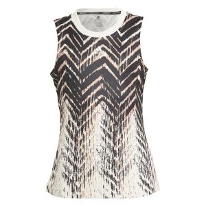 Top and Shirts Girl adidas Match Tank Girl  Wonder White GT6959