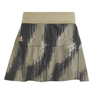 Gonne e Pantaloncini Girl adidas Match Gonna Bambina  Orbit Green/Black H15954