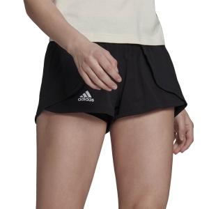 Gonne e Pantaloncini Tennis adidas Match 2in Pantaloncini  Black/White GV1522