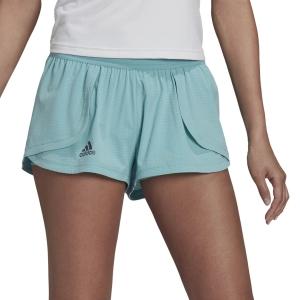 Gonne e Pantaloncini Tennis adidas Match 2in Pantaloncini  Mint Ton/Black H38842