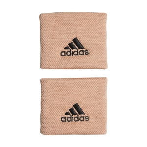 Tennis Wristbands adidas Performance Small Wristbands  Ambient Blush/Black H38996