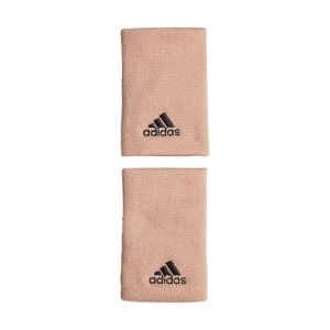 Tennis Wristbands adidas Performance Large Wristbands  Ambient Blush/Black H38992