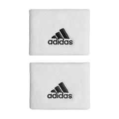 adidas Classic Small Wristband  - White/Black