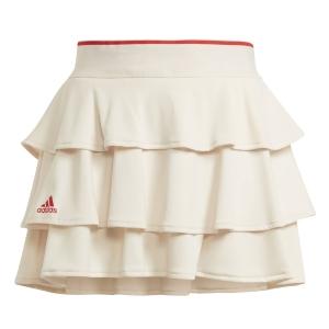 Faldas y Shorts Girl adidas Pop Up Falda Nina  Wonder White/Vivid Red GT6961