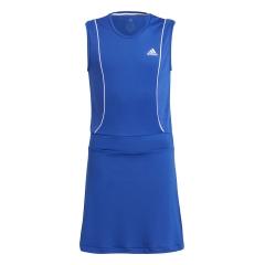 adidas Pop Up Dress Girl - Bold Blue/White