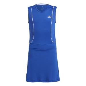 Tennis Dress Girl adidas Pop Up Dress Girl  Bold Blue/White GT6962