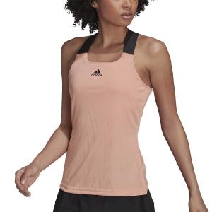 Women`s Tennis Tanks adidas Primeblue Aeroknit Tank  Ambient Blush H31426