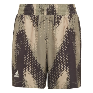 Tennis Shorts and Pants for Boys adidas Primegreen 5in Shorts Boy  Beige Tone/Black/Focus Olive H22658