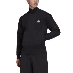Men's Tennis Jackets adidas Primeknit Jacket  Black H31381