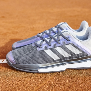 Adidas SoleMatch Bounce - Grey Four/Silver Metallic/Grey Two