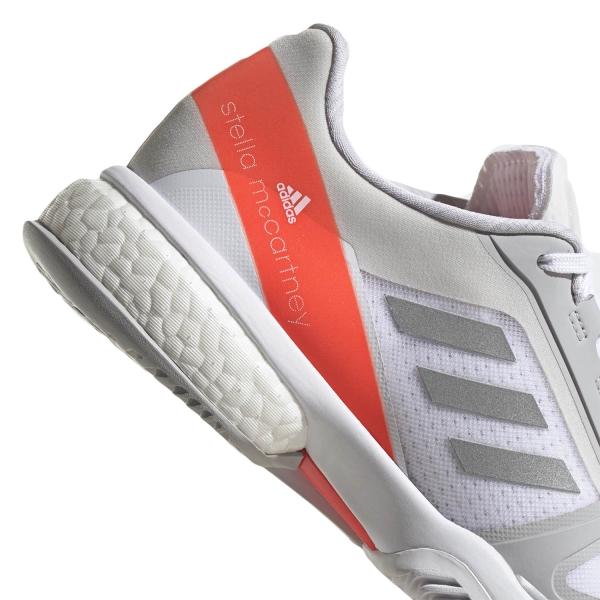 adidas Stella Court - Ftwr White/Silver Met/Solar Red