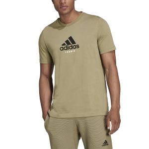 Men's Tennis Shirts adidas US Open TShirt  Orbit Green GU8862
