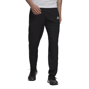 Pantalones y Tights Tenis Hombre adidas Woven Pantalones  Black/White GT7823