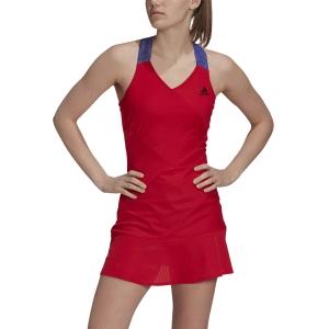 Tennis Dress adidas YStyle Primeblue AEROREADY Dress  Scarlet/Black GQ8929