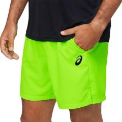 Asics Court 7in Shorts - Green Gecko
