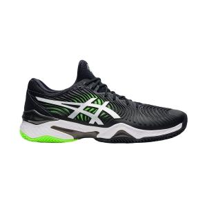 Men`s Tennis Shoes Asics Court FF 2 Clay  Black/Green Gecko 1041A082005