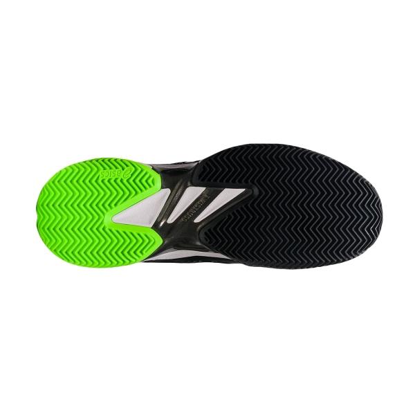 Asics Court FF 2 Clay - Black/Green Gecko