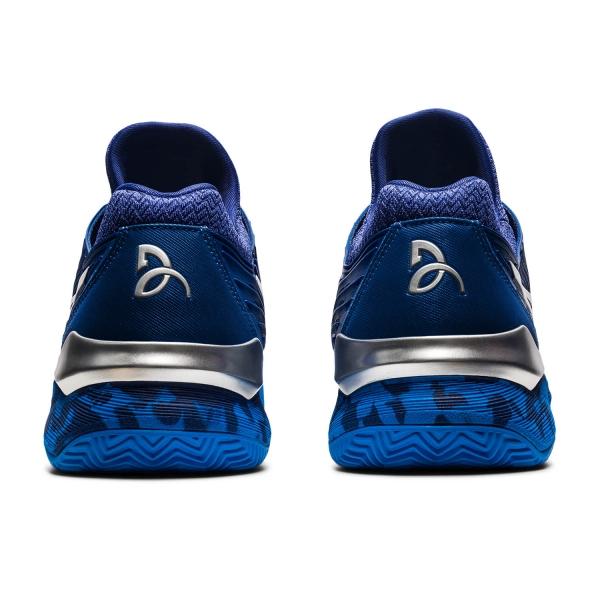 Asics Court FF Novak Clay - Blue Print/White