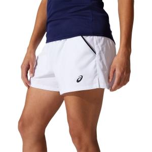 Skirts, Shorts & Skorts Asics Court 4in Shorts  Brilliant White 2042A186100