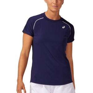 Camisetas y Polos de Tenis Mujer Asics Court Camiseta  Peacoat 2042A157400