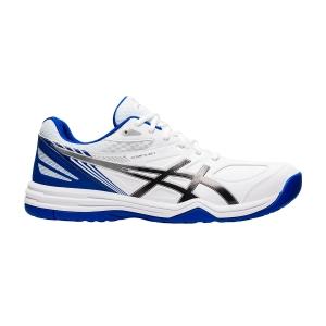 Calzado Tenis Hombre Asics Court Slide 2  White/Blue 1041A194101