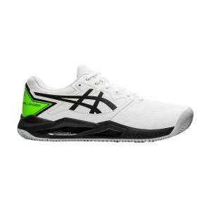 Men`s Tennis Shoes Asics Gel Challenger 13 Clay  White/Green Gecko 1041A221100