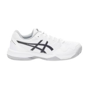 Men`s Tennis Shoes Asics Gel Dedicate 7 Clay  White/Black 1041A224100
