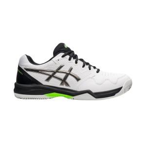Men`s Tennis Shoes Asics Gel Dedicate 7 Clay  White/Gunmetal 1041A224101