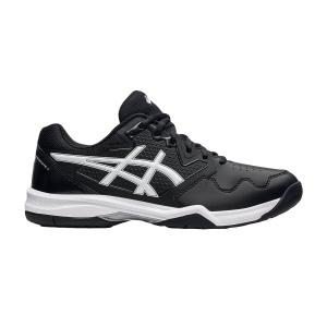Calzado Tenis Hombre Asics Gel Dedicate 7  Black/White 1041A223001