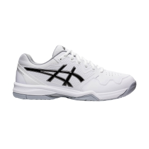 Calzado Tenis Hombre Asics Gel Dedicate 7  White/Black 1041A223100