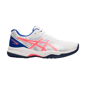 Women`s Tennis Shoes Asics Gel Game 8 Clay/OC  White/Blazing Coral 1042A151102