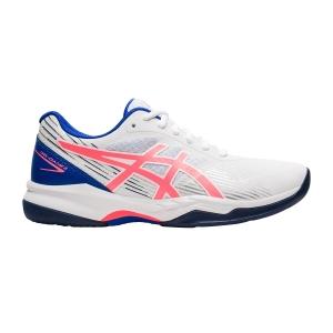 Calzado Tenis Mujer Asics Gel Game 8  White/Blazing Coral 1042A152102