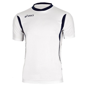 Ropa Asics Nino Asics Junior Goran Camiseta Nino  White/Navy T264Z7.0150