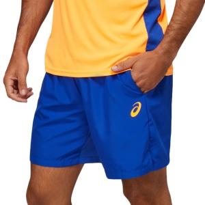Pantalones Cortos Tenis Hombre Asics Logo 7in Shorts  Monaco Blue 2041A153409